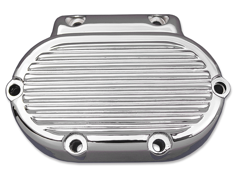 Clutch Release Cover Chrome Ribbed for 1987-1999 Big Twins