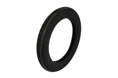 Replica Black Diamond 4.00 X 18 Front/Rear Blackwall Tire for Harley
