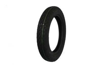 Replica Black Diamond 4.50 X 18 Front/Rear Blackwall Tire for Harley