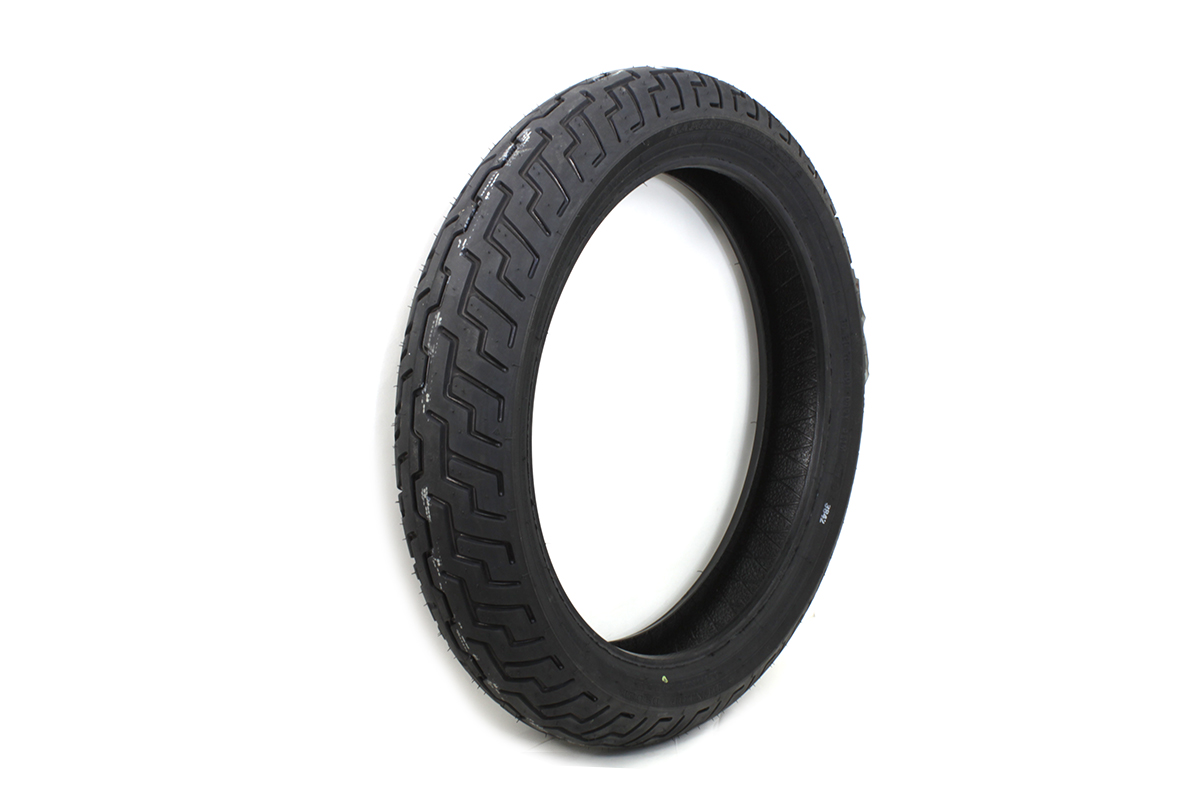 "Dunlop D402 Touring Elite 130/70B 18"" Blackwall Tire"