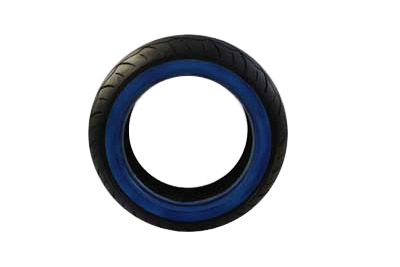 Vee Rubber 150/60B X 18 Rear Whitewall Tire for Harley & Customs