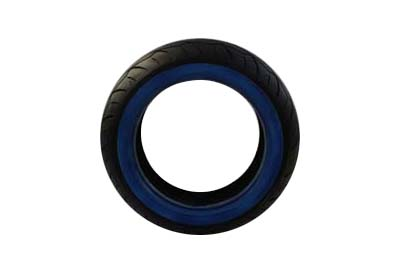 Vee Rubber 180/50R X 18 Rear Whitewall Tire for Harley & Customs