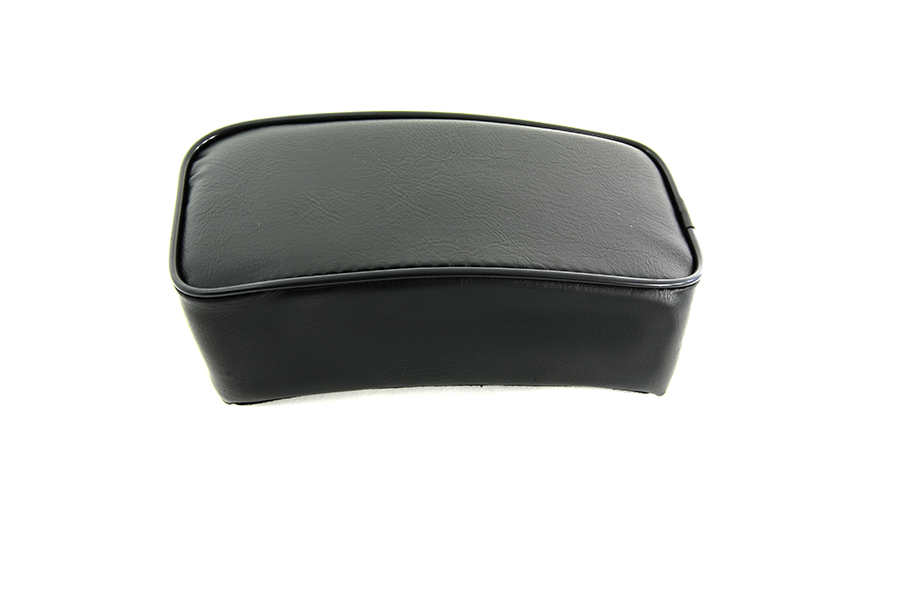 Smooth Vinyl Rear Seat Pillion Pad for Harley Big Twins & Sportsters