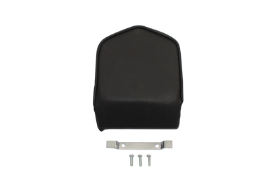 Smooth Black Pointed Sissy Bar Pad for 16 in. Sissy Bars