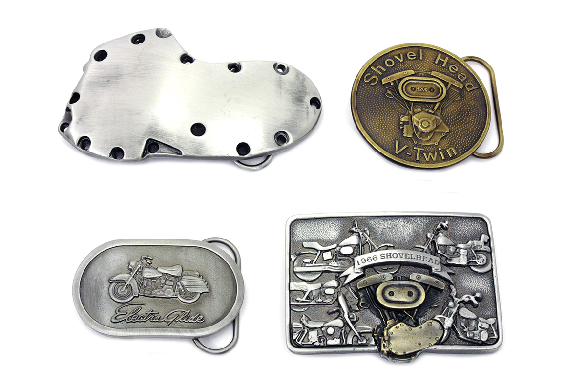 V-Twin Shovelhead Series Belt Buckle Set