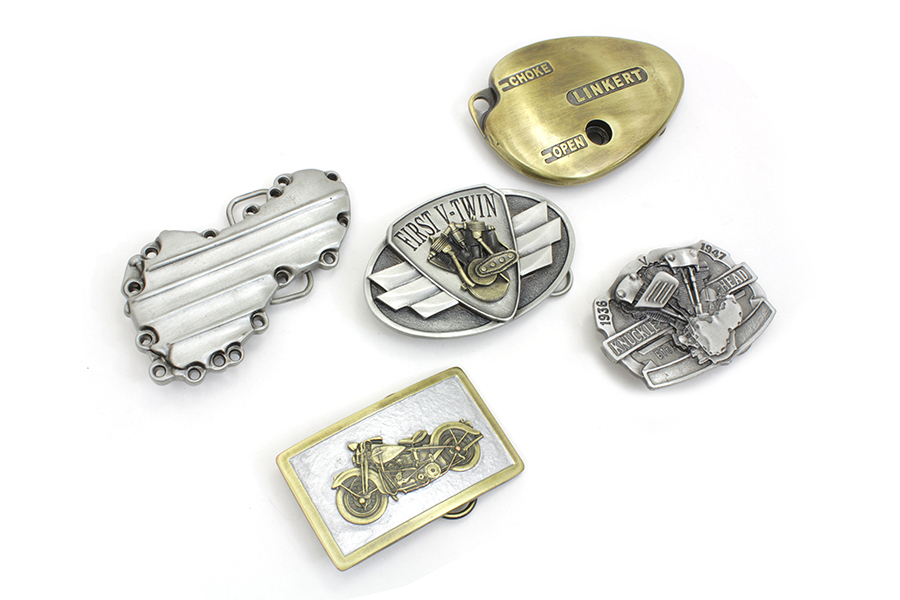 Motorcyclepedia Series Belt Buckle Set