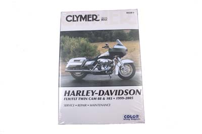 Clymer Harley-Davidson FLH/FLT Twin Cam 88 and 103 1999-2005