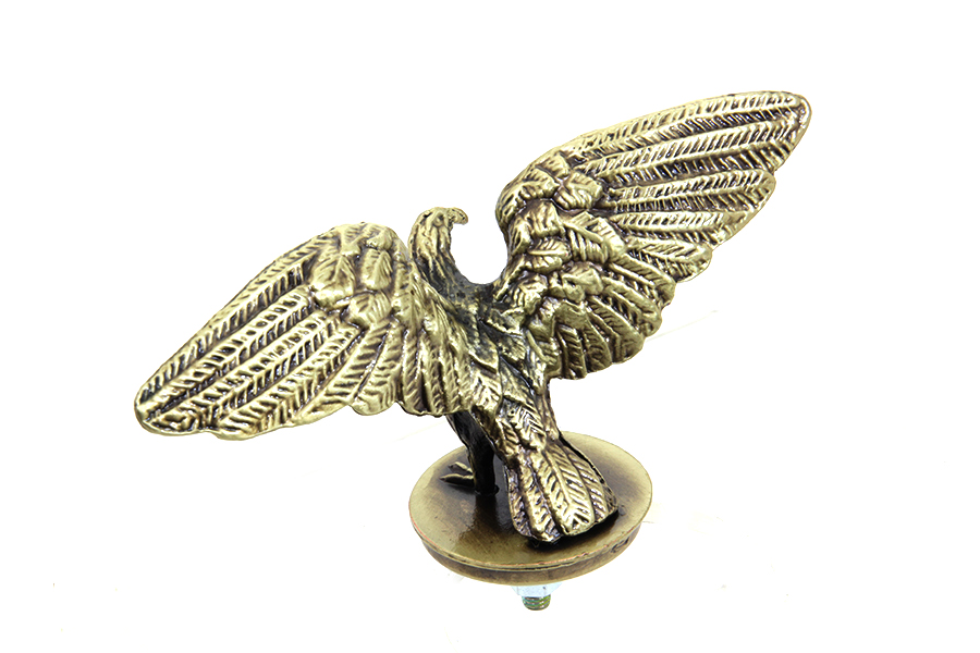 Bronze Eagle Fender Ornament for Front or Rear Fenders