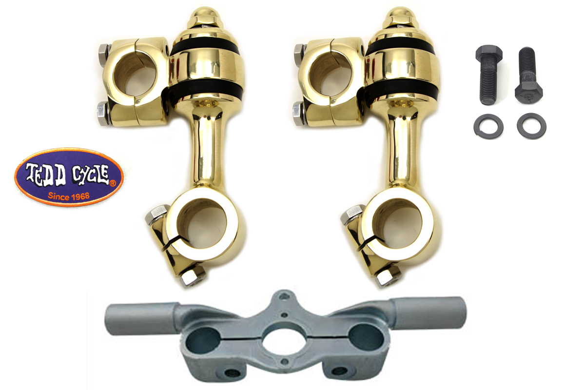 Brass Flanders Riser Kit for 1936-1957 Springers