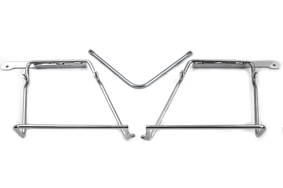 FLST 1986-UP Heritage Saddlebag Bracket Set