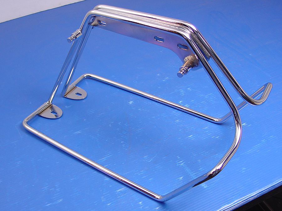 Chrome FL 1978-1984 Saddlebag Mount Bracket Set