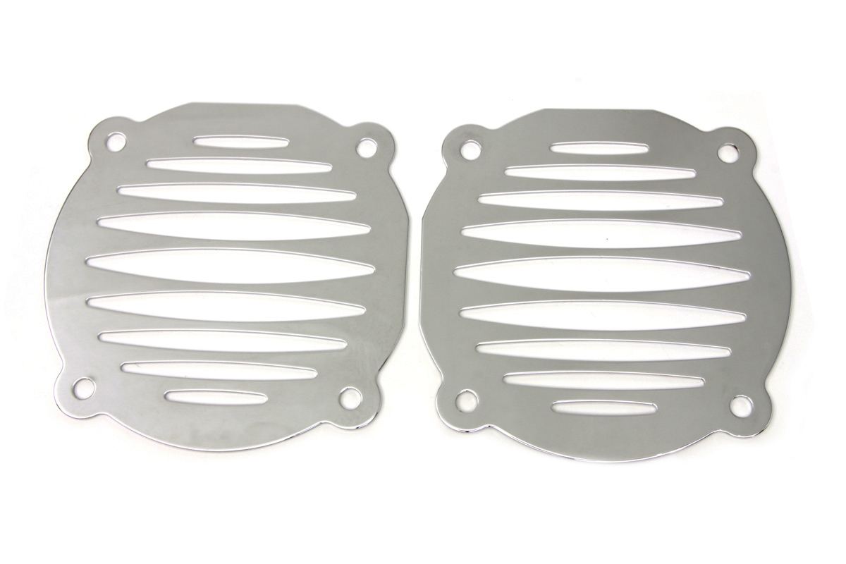 Chrome FL 2000-2013 Deep Cut Speaker Grill Set