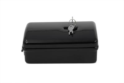 Rectangle Black Tool Box for 1936-1939 Harley EL & UL