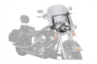 Spartan Clear Quick Release Windshield for FLST 1986-UP Harley