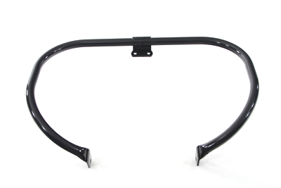 Black 1 in. Front Engine Bar for FL 1948-1954 Harley Big Twin