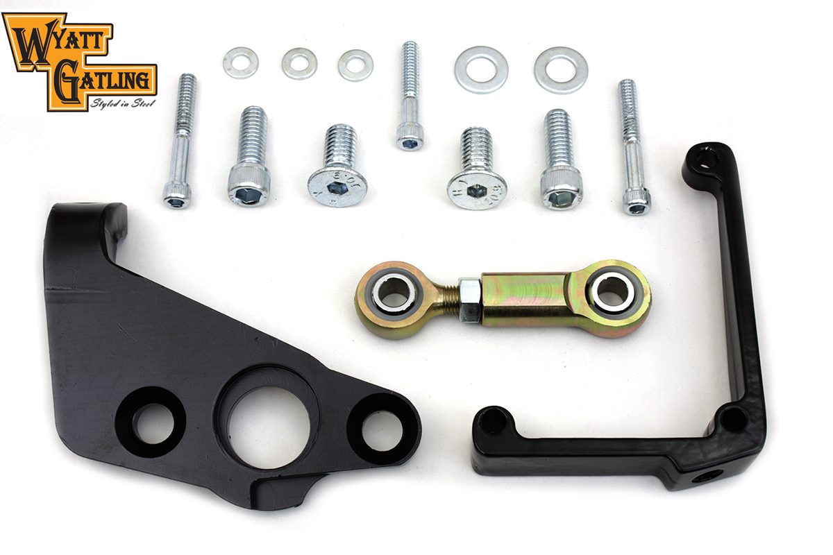 Black Touring FLT 2009-UP Torque Linkage System
