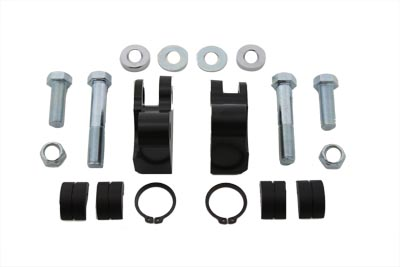 Black 1 in. Rear Shock Lowering Kit for FXDG 1991-99 Harley DYNA