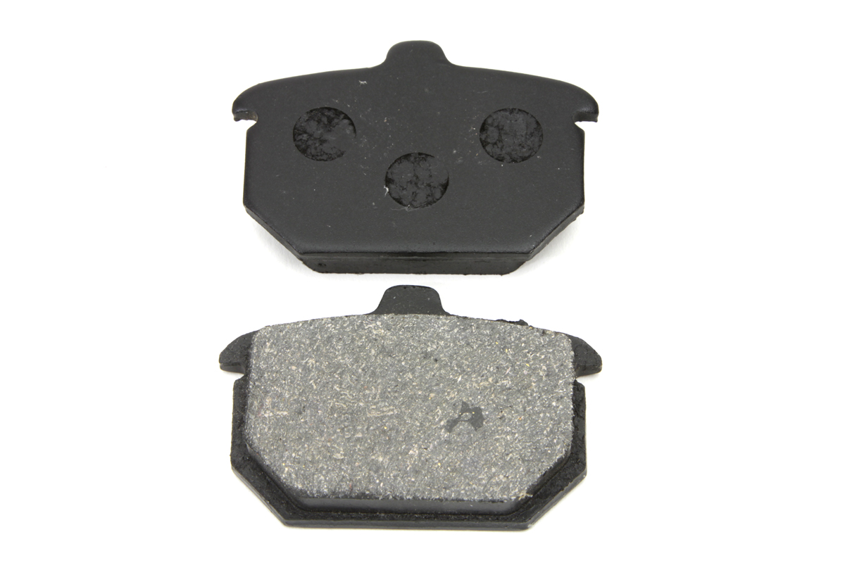 Dura Soft Rear Brake Pad Set for 1982-1987 Big Twins & XL