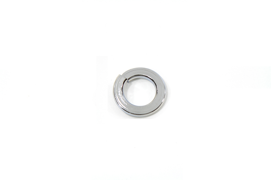 "Chrome Lock Washer 1/4"" Inner Diameter - 12 Pack"
